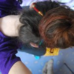 Codite colorate (hairwraps) – how it's made