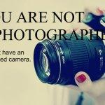 Nu suntem fotografi, ci tineri cu aparate șmechere