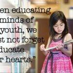 Să se vorbească despre Educație!