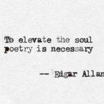 Fără poezie nu-i sensibilitate