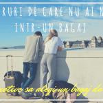 Vlog: Bagajul de mână și lucrurile de care te poți lipsi într-o călătorie