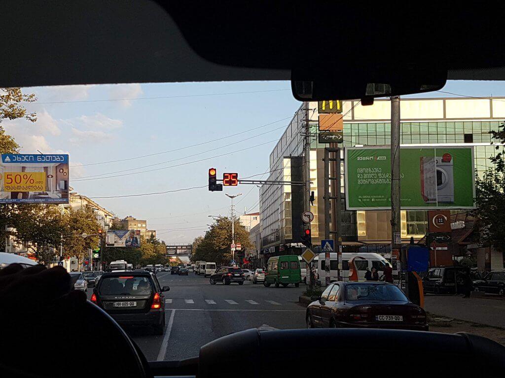 Kutaisi - trafic