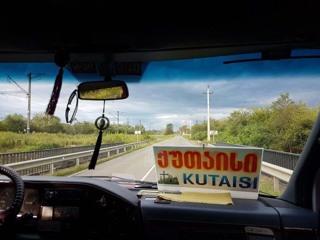 Drumul Kutaisi-Batumi
