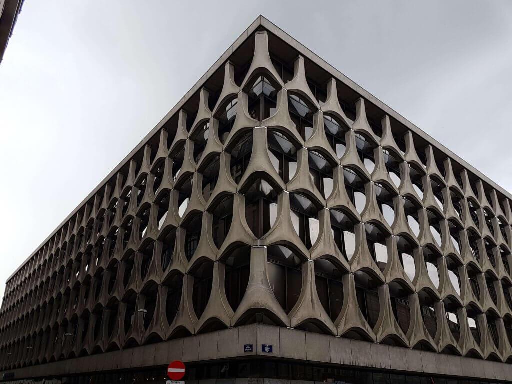 Clădire faină în Bruxelles